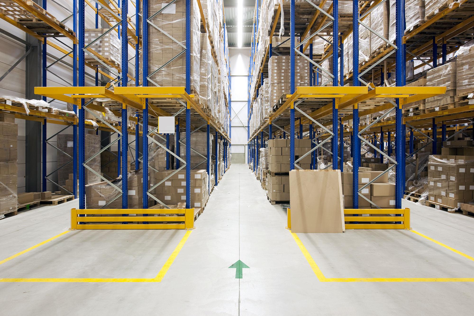 Logistik Lagerhaltung NOVEXX Solutions